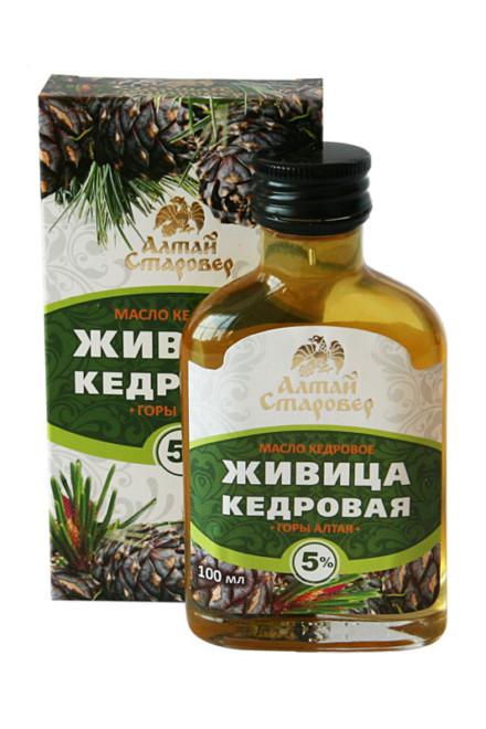 Живица Кедровая «Алтай Старовер» 100мл