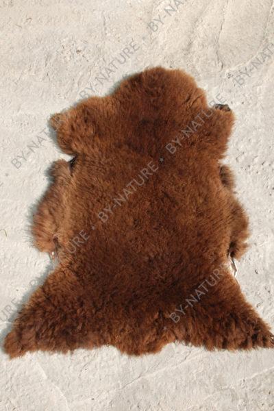 Шкура овечья коричневая
