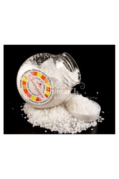 Соль для ванн Грейпфрут 600гр