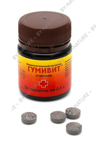 Безалкогольный напиток «Гумивит» в таблетках