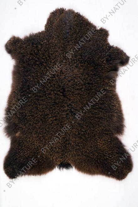 Шкура козья (коричневая)