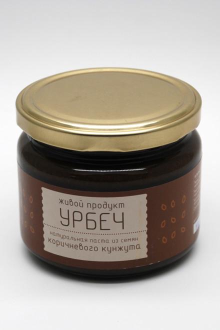 Урбеч из семян коричневого кунжута 310гр