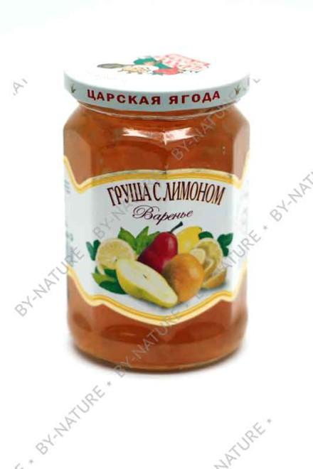 Варенье «Груша с лимоном» 360 гр (царская ягода)