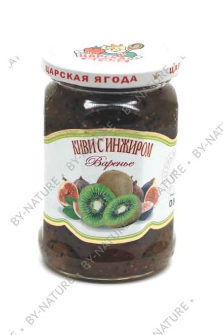 Варенье «Киви с инжиром» 360 гр (царская ягода)