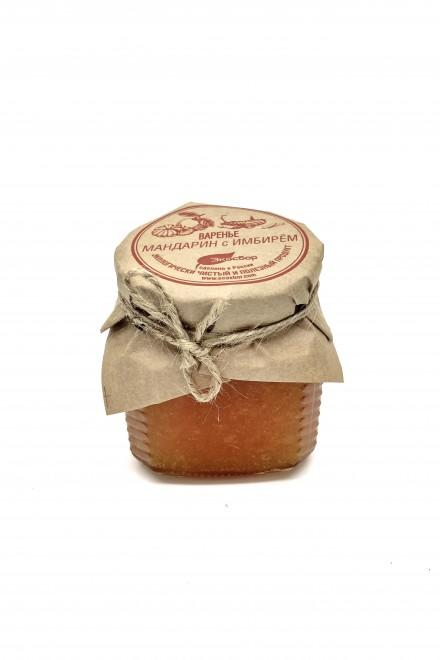 Варенье «Экосбор» мандариновое с имбирем 250мл/320гр