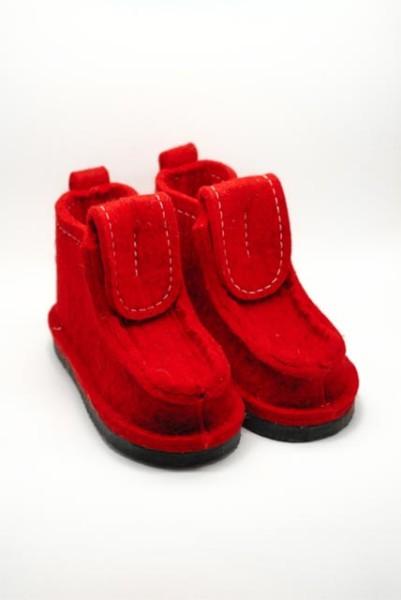 Валеши красные на подошве ЭВА 15-25мм. И подарок!